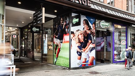 "Unisport Flagship Store WK-feest   Bezoek ""Worl..."