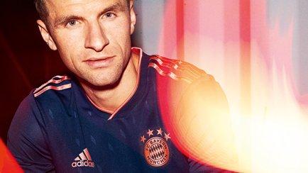 Das neue Bayern 3. Trikot ist da | Erfahre mehr...