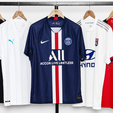 Ligue 1 kits 2019/20 | See all the new Ligue 1 ...