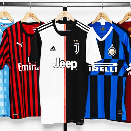 Serie A kits 2019/20 | See all the new Serie A ...