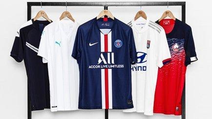Tenues de La Ligue 1 2019/20 | Découvre les ten...