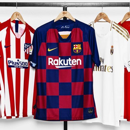 La Liga pelipaidat 2019/20 | Katso uudet La Lig...