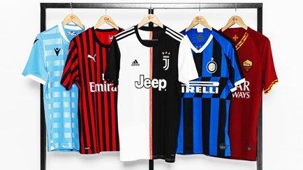 Serie A Trikots 2019/20 | Schaue dir alle neuen...