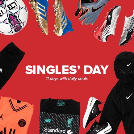 Single's Day at Unisport | 11 days of great deals
