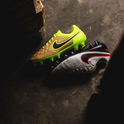 Hvilke forskelle er der på Nike Tiempo Legend V...