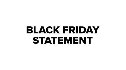 Belangrijke informatie over Black Friday