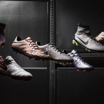 Nike ist bereit, mit dem Liquid Chrome Pack