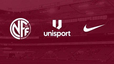 Unisport inleder samarbete med NFF och Nike