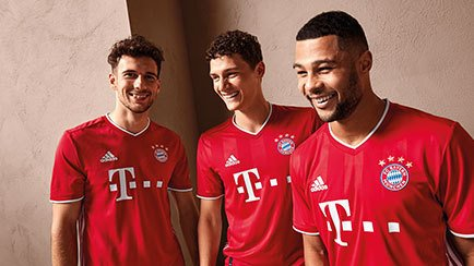 New shirt for Bayern München | Get the 2020/21 ...