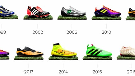 10 wichtige Fußballschuhe der letzten 25 Jahre ...