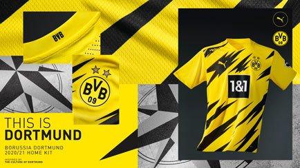 Ny Dortmund hjemmebanetrøje | Få alle detaljern...