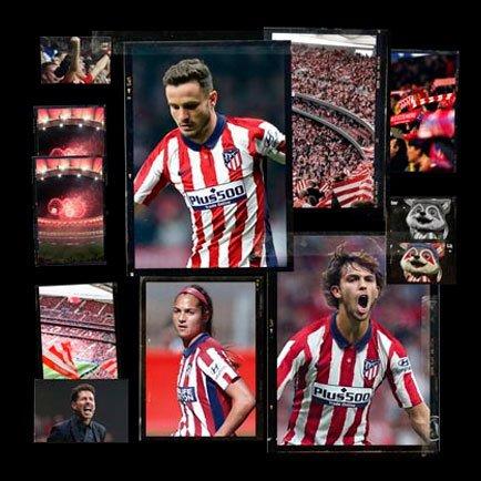 New Atlético Madrid home shirt | Get all the de...