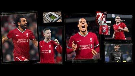 Nouveau maillot Liverpool domicile | Les Reds s...
