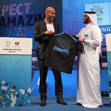 An diesem Tag - 2. Dezember: Als Katar Gastgebe...