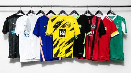 Die Bundesliga Trikots der Saison 2020/21 | Die...