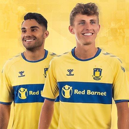 Brøndbys hjemmebanetrøje 2020/21 | Se trøjen ho...