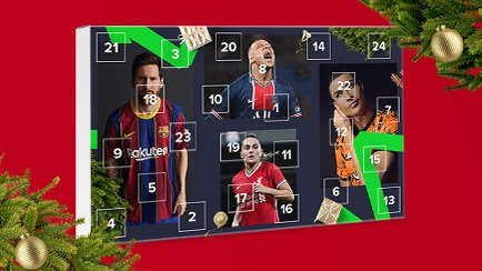 Vinn flotte Fotballgaver i Unisports julekalender
