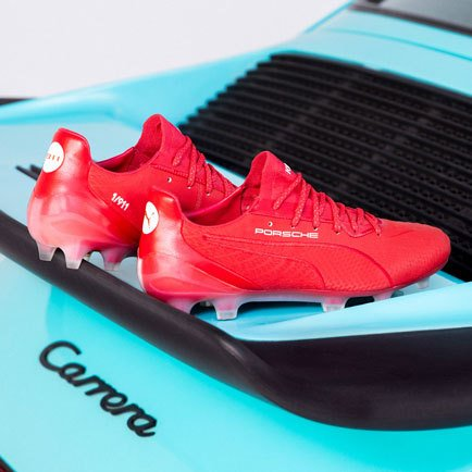 The PUMA King is back | Combined with a Porsche...