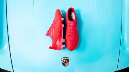 The PUMA King is back   Combined with a Porsche...