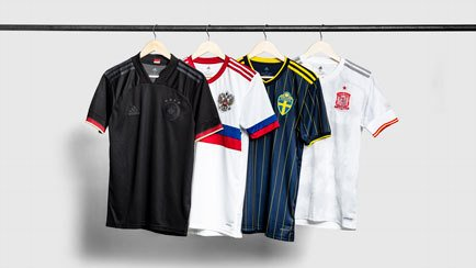 EURO 2020 away shirts | adidas launches 4 new s...