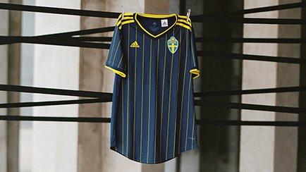 Sverige bortatröja för EM 2020 | adidas lansera...