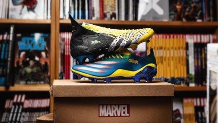 adidas x Marvel | X-men neemt de voetbalwereld ...