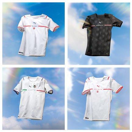 Nya bortatröjor från PUMA | Nya tröjor för EM 2020