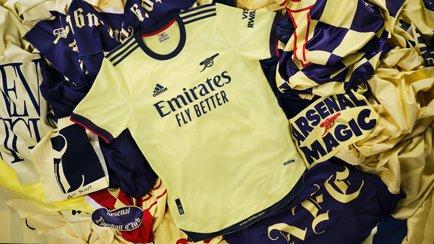 Arsenal Auswärtstrikot 2021/22 | adidas veröffe...