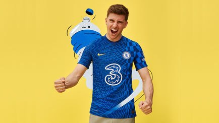 Chelsea home shirt 2021/22   Available at Unisport
