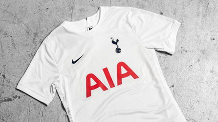 Tottenham home shirt 2021/22   Celebrating Spur...