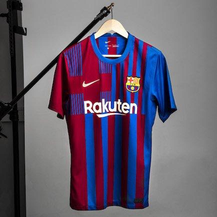FC Barcelone maillot domicile 2021/22 | Un desi...