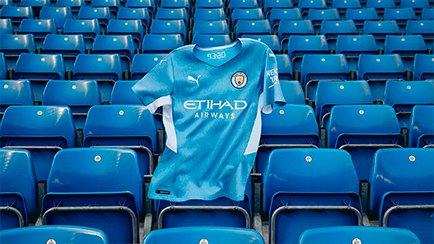 Nouveau maillot domicile de Manchester City | P...