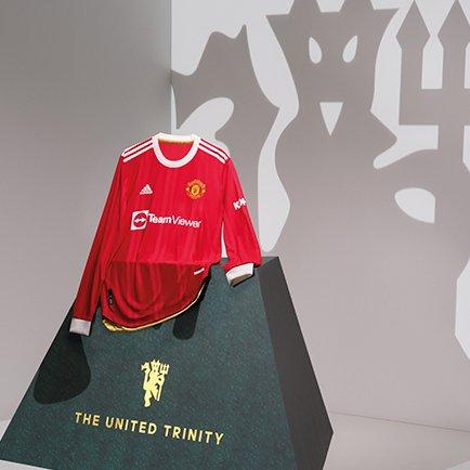 Manchester United hjemmebanetrøje 21/22 hos Uni...