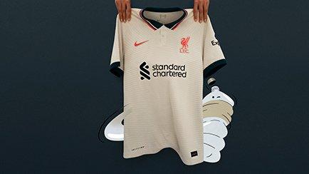 Liverpool udebanetrøje 2021/22 | Tjek den ud på...