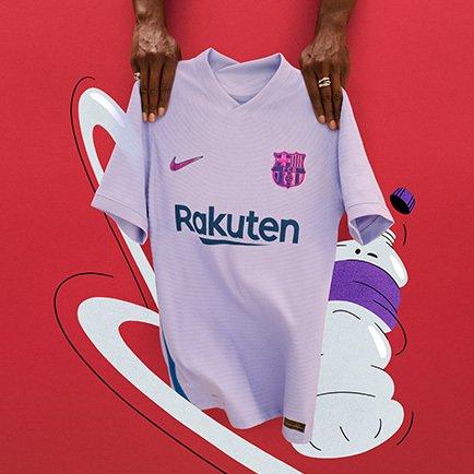 Barcelona udebanetrøje 2021/22 | Læs mere omkri...