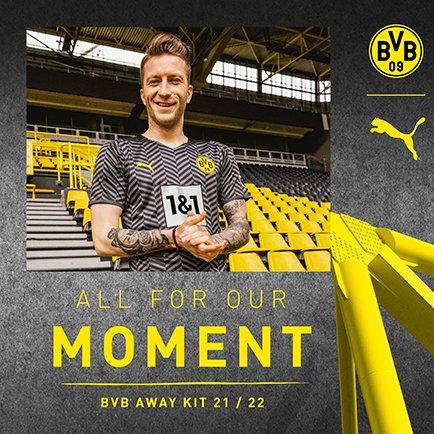Borussia Dortmund Auswärtstrikot 2021/22   Zurü...