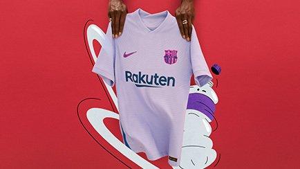 Barcelona Auswärtstrikot 2021/22 - Erfahre mehr...