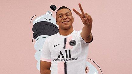 PSG udebanetrøje fra Nike   Få den hos Unisport