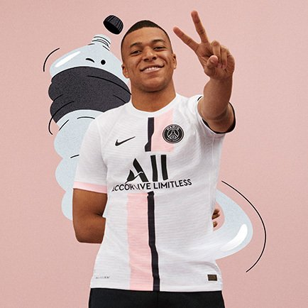 PSG udebanetrøje fra Nike | Få den hos Unisport