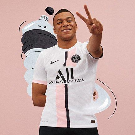 Nouveau maillot extérieur PSG | Nike sort un ma...
