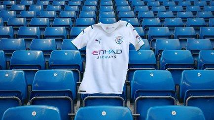 Ny udebanetrøje til Man City | Fejrer fodbolden
