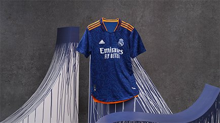 Real Madrid udebanetrøje 2021/22 | Graffiti design