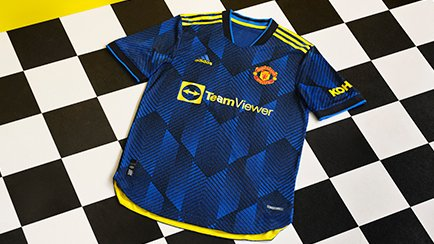 Manchester United derde shirt 2021/22   Geschie...