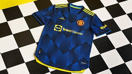 Manchester United tredje trøje 2021/22 | Histor...