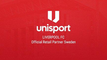 Unisport ny officiell retailpartner för Liverpo...