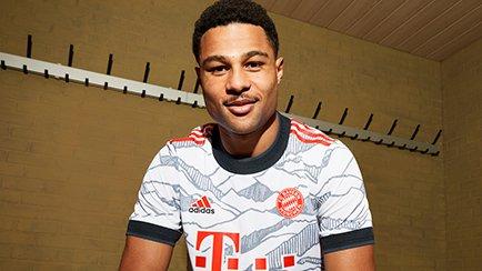 Bayern Munich 3. trøje 2021/22 | Bjergene indta...