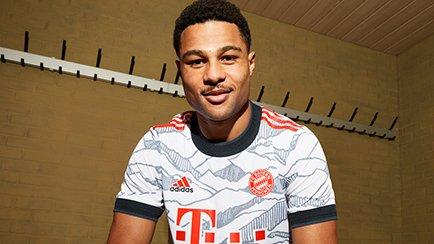 Maillot Third Bayern Munich 2021/22   Découvrez...