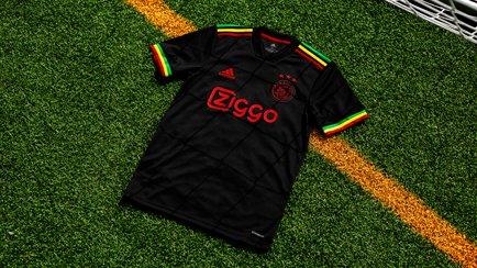 Ajax 3. trøje for 2021/22 | Bob Marley møder Ajax