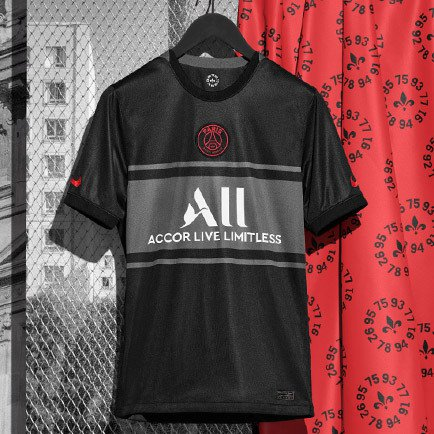 Paris Saint Germain third shirt 2021/22   Read ...