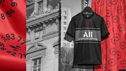 Paris Saint Germain third shirt 2021/22 | Read ...